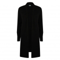 Ladies' Longline Open Cardigan